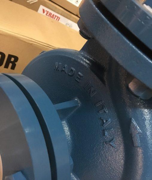 máy bơm beluno chính hãng được khắc nổi made in italy tránh hàng nhái hàng giả